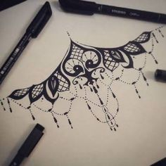 Image result for under boob sternum tattoo designs