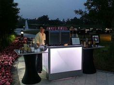 Mid night barista service poolside www.espressoeventsorlando.com