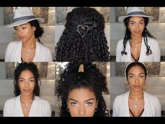 Cool Natural Hairstyles You Should Try! | Vol. 4 - YouTube