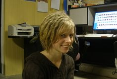 Start Locs with Short Hair | My dreadlocks at one year. Still some little lumps, but they are ...
