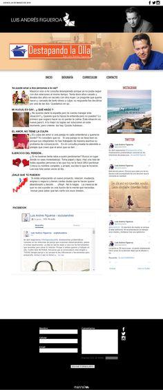 Diseño, desarrollo y programción web. Html, Css, Jquery, Js + Weblog admin Blogger. Por Manrei / Rei Pilca