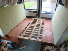 DIY Van Conversion Adding A Pop Up Top And Cabinets