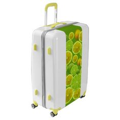 #Lemon & Limes Luggage - #luggage #suitcase #suitcases #bags #trunk #trunks