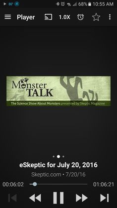 In this week's eSkeptic:  MonsterTalk: Skeptics Talking About Monsters Feature Article: Myths about Electromagnetic Hypersensitivity MonsterTalk (logo) Skeptics Talking About Monsters MONSTERTALK EPISODE 108 In this episode of MonsterTalk, we talk with Deborah Hyde, editor of the British magazine The Skeptic. Deborah is deeply interested in folklore, anthropology, monsters and skepticism. Our conversation covers a variety of topics including vampires, werewolves, ghosts and movies. Follow…