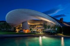 Bob Hope's Modern home in Palm Springs