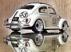 Volkswagen Beetle - Herbie 53 OLDSKL WORLD® : Photo