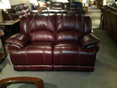 SEE IT, SNAP IT, POST IT Facebook contest entry: Leather Loveseat