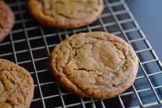 Always Order Dessert: Super Chewy Ginger Cookies