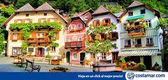 Color, naturaleza y vida en la villa Hallstatt, Austria www.costamar.com