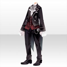 Secret Between Butler and Lady Mary Anime Outfits, Boy Outfits, Lady Mary, Cocoppa Play, Model Outfits, Drawing Clothes, Character Outfits, Looks Cool, Fashion Games