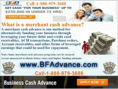 Merchant cash advance companies and The Unsecured Business Advance Programs They Offer
