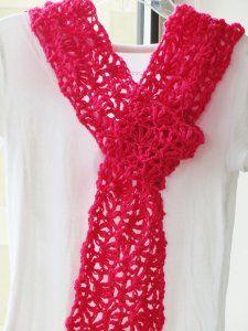 Lacy Alana Scarf ~ Free Crochet Pattern