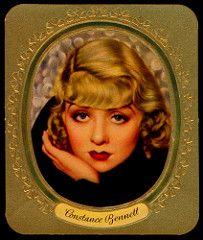 German Cigarette Card - Constance Bennett | by cigcardpix