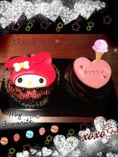 My melody cupcake