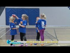 Bean bag body balance  Easy and fun blancing activity that only uses bean bags!