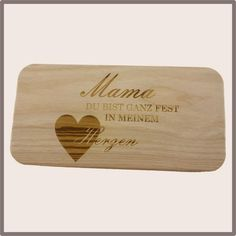 Jausenbrett aus Erlenholz Bamboo Cutting Board, Grilling, Food And Drinks, Gifts