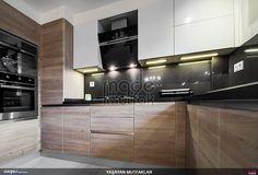 Tasarım ve uygulamasını yaptığımız bir mutfak. #mutfak #kitchen