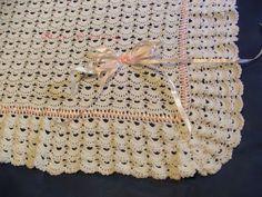 As Receitas de Crochê: MANTA CHIC PARA BEBE EM CROCHÊ