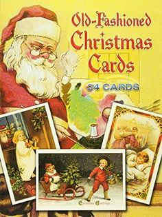 Old-Fashioned Christmas Postcards: 24 Postcards