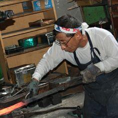 Blacksmith Shiraki-san.