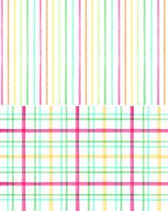 Stripes + Plaid | 30 Gorgeous Wallpapers for Your Desktop