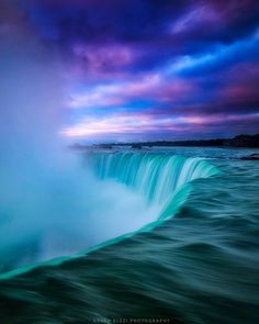 Good morning from Niagara Falls by Argen Elezi