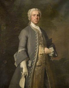 Not Quite Shy Enough Shy Hand! John Harvey Thursby of Abington Abbey Charles Philips Northampton Museums & Art Gallery 18th Century Clothing, 18th Century Fashion, 17th Century, Historical Costume, Historical Clothing, Ages Of Man, Rococo Fashion, Museum Art Gallery, Old Paintings