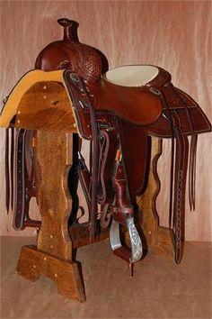 Martin Saddlery Working Cowhorse-TX Dally - 16.5