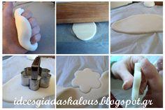 Ιδεες για δασκαλους: Στολίδια για το δέντρο από ζύμη κορν-φλάουρ και μαγειρικής σόδας! Απλά υπέροχα!