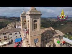 Sisma centro Italia - Soccorsi dei Vigili del Fuoco - Sant'Elpidio Moric...