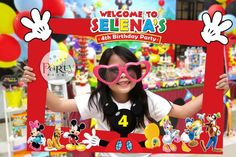 Mickey Mouse Clubhouse inspiración DIY foto marco por Partyprintkk
