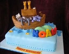 Noah's Ark cake Image