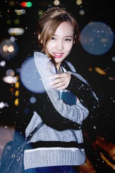 Poor Nayeon feeling cold❄️ #TWICE #Nayeon