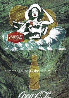 CoCoke Side of Life: Coca-Cola Art Remix by Coca-Cola Art Gallery, via Flickr