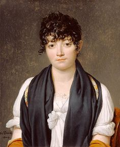 Suzanne Le Peletier de Saint-Fargeau by Jacques-Louis David, 1804.