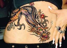 Chinese Dragon Tattoo for Women