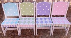 Custom Wooden Childrens Chairs Your choice mix and by spoiltrottn, $79.95