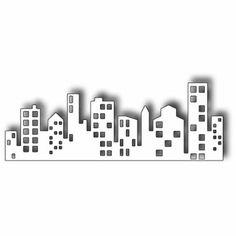 new york city skyline silhouette manhattan tattoo tat pinterest diy geschenke silhouetten. Black Bedroom Furniture Sets. Home Design Ideas