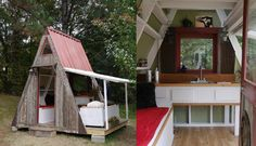 This $1200 holiday home can be repacked and carried away at the end of a weekend in the woods.