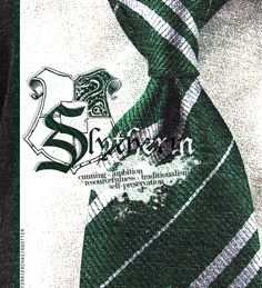 I'm probably the only possible person that tried to get Hufflepuff on Pottermore and ended up in Slytherin. But surprisingly, it fits me perfectly.