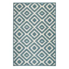 Kilim Blue 8 ft. 3 in. x 11 ft. 6 in. Area Rug