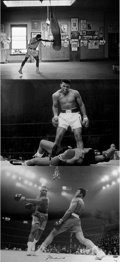 Muhammad Ali. Simply the 'Greatest of All Time'.