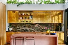 30 Chic Home Design Ideas – European interiors. 42 Awesome Home Interior Ideas That Will Make Your Home Look Great – 30 Chic Home Design Ideas – European interiors. Modern Kitchen Design, Modern House Design, Beautiful Kitchens, Cool Kitchens, Modern Kitchens, Pink Kitchens, Concrete Kitchen, Melbourne House, Kitchen Interior