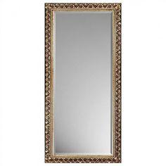 Paragon Rectangle Traditional Antique Gold Mirror - 8726