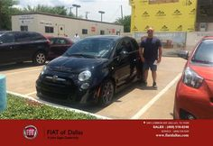 https://flic.kr/p/HR3VoZ   Happy Anniversary to Steven on your #FIAT #500 from Wendell Montague at FIAT of Dallas!   deliverymaxx.com/DealerReviews.aspx?DealerCode=F741