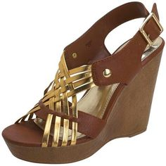 Payless Wooden Wedge   895php