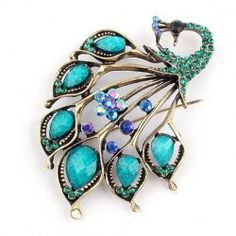 SHARE & Get it FREE | Retro Style Rhinestone Embellished Peacock Shape BroochFor Fashion Lovers only:80,000+ Items • FREE SHIPPING Join Nastydress: Get YOUR $50 NOW!