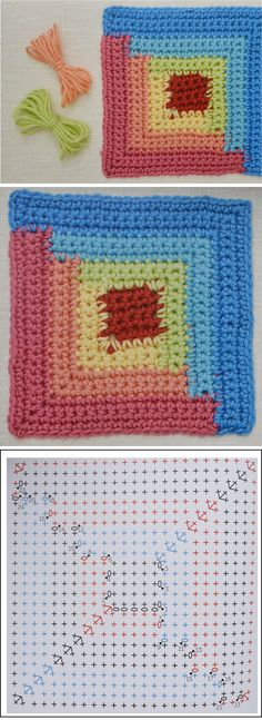Today we are going to learn to crochet a wonderful log cabin square. After learning to crochet these beautiful squares, which by the way are pretty easy to make, you are going to have everything you need in order to seam them together and make a beautiful blanket. Believe, the blanket made out of the… Read More Cabin Square & Blanket – Complete Pattern