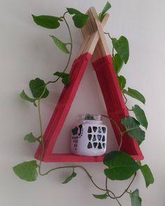 Garden Furniture Vintage Inspiration 25 New Ideas Rock Garden Design, Popsicle Stick Crafts, Handmade Design, Vintage Furniture, Garden Furniture, Wooden Diy, Diy Room Decor, Home Decor, Interior Decorating
