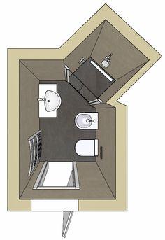 Badplanung mit freistehender badewanne badarchitektur for Mini badezimmer